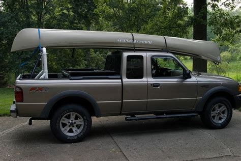 boat transport racks pvc pick up truck rack for canoe or kayak such a good