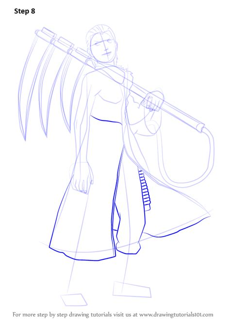 tutorial naruto drawing learn how to draw hidan from naruto naruto step by step