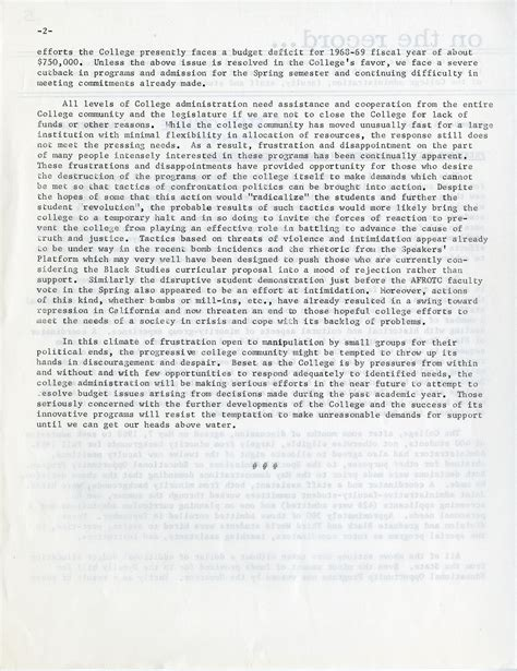 Statements On The Of Smith by President Smith S Statement On Black And Ethnic Studies