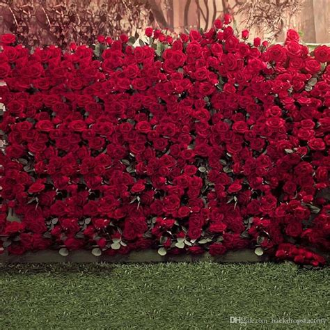 Wedding Background Wall by 2018 Roses Wall Wedding Photography Backdrops