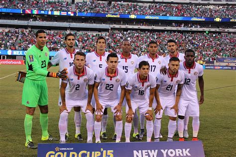 costa rica national football team results 2015