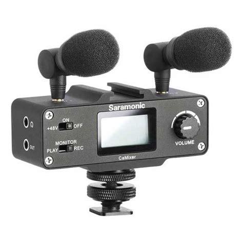 jual saramonic camixer microphone kit harga  spesifikasi