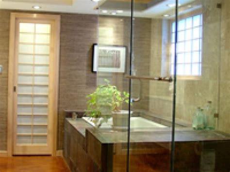 zen bathroom design layer the lighting in your zen bathroom hgtv