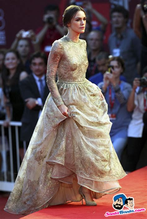 Keira Knightley At The Venice Festival by Keira Knightley Arrives On The A Dangerous Method