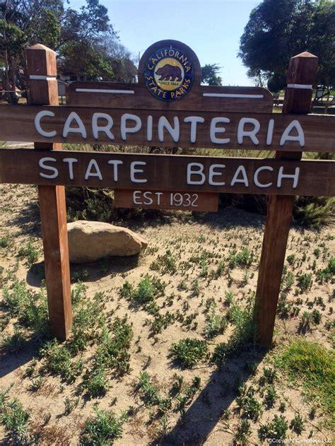 Carpinteria State Beach ,Carpinteria ,California