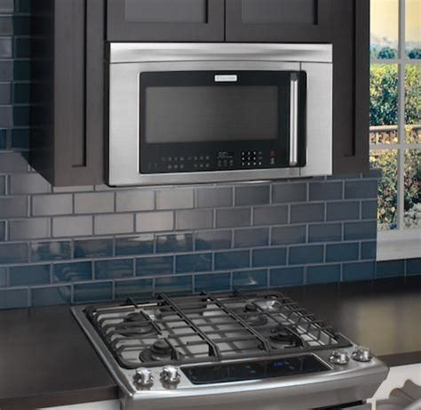 appliances: electrolux over the range microwave oven combo