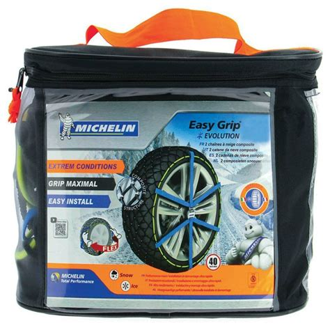 cadena de nieve michelin sos grip 6 michelin easy grip evolution 1