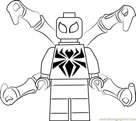 iron coloring pages lego iron spider coloring page free lego coloring pages