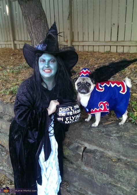 wicked witch  flying monkey dog costume