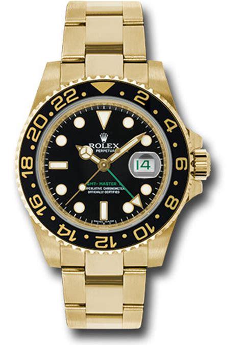 rolex gmt master ii yellow gold watches from swissluxury