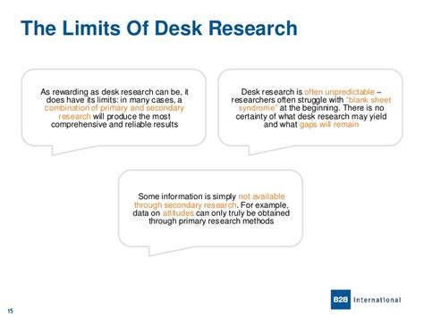 What Is Desk Review In Research Methodology by An Introduction To Desk Research