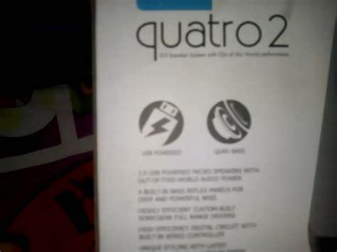 Sonicgear Quatro 2 By Dpcom unboxing sonicgear quatro 2 usb speaker