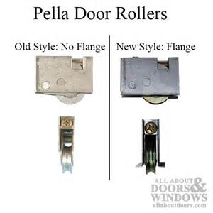 roller assembly pella patio door style