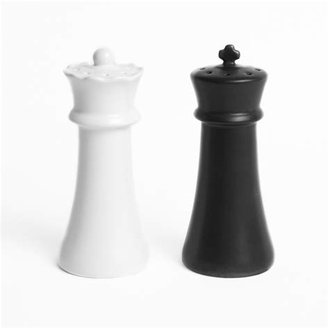 salt and pepper shakers checkmates salt and pepper shakers the green head