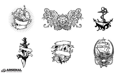 tattoo designs vector adobe illustrator design pack