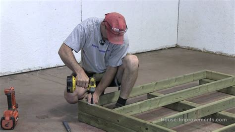 build  shed part  building  floor youtube