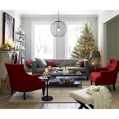 Gray Living Room Chair Aidan Sofa Furniture Tes And Crate And Barrel