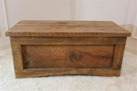 handmade storage blanket chest coffee table by