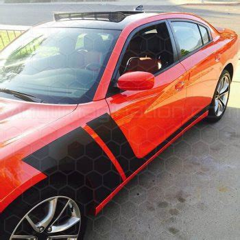 2015 2018 charger custom graphics   charger custom stripes