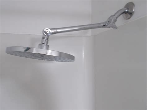 magnificent shower extension arm  homy design