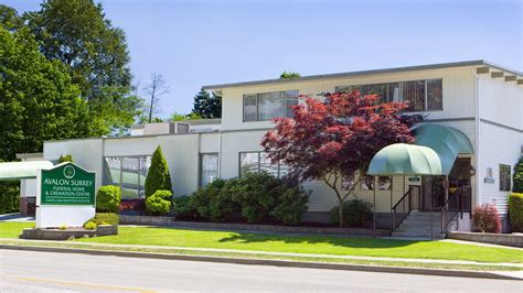 Comfort Funeral Home by Avalon Surrey Funeral Home Surrey Bc