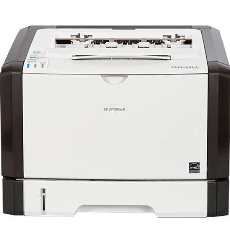 Printer Laser Black And White sp 377dnwx black and white laser printer ricoh usa
