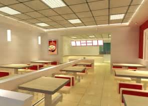 fast food interior design picture