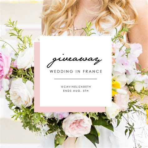 France Wedding Photography Giveaway for 2017   Early 2018
