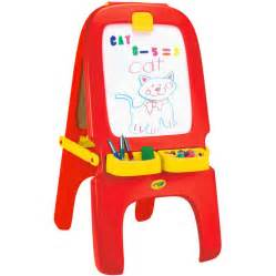 magnetic easel for toddlers crayola magnetic double sided easel dry erase board