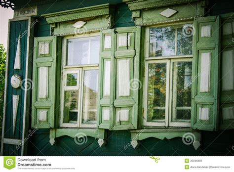 country style windows russia stock photos image 35045893