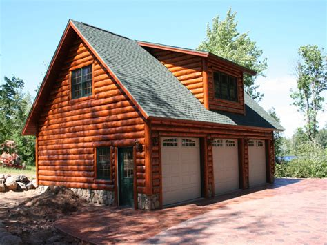 cabin plans with garage log garage with apartment plans log cabin garage with