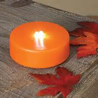 led pumpkin tea lights battery operated candles seasonal led tea lights
