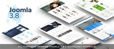 All Templates Updated Joomla 3 8 1 Quickstart Packages Free Joomla 3 8 Templates