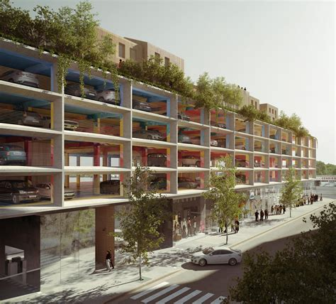 Apartment In Park From Car Parks To Culture Parks The New Hubs For City