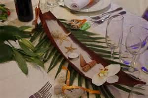 Nice Idee Decoration Table Noel #5: Photo-table-déco-de-table-thème-iles-8.jpg