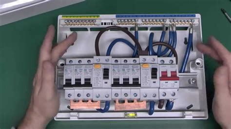 garage fuse box wiring diagram how to wire a consumer unit