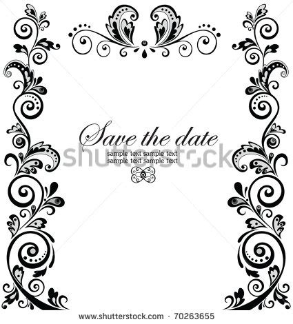 New Wedding Border by 13 Wedding Border Vector Images Vintage Wedding Vector
