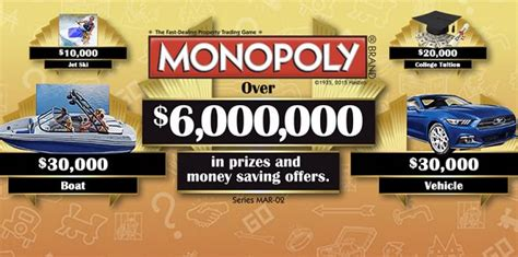Monopoly Sweepstakes - 2015 marsh monopoly collect and win game sweepstakesbible