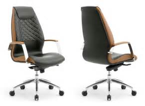 Ergonomic Home Office Furniture Presidential Armchair Covered In Leather Idfdesign