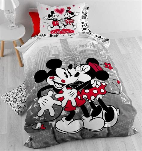 Couette Mickey Minnie by Housse De Couette Mickey Et Minnie Cgmrotterdam