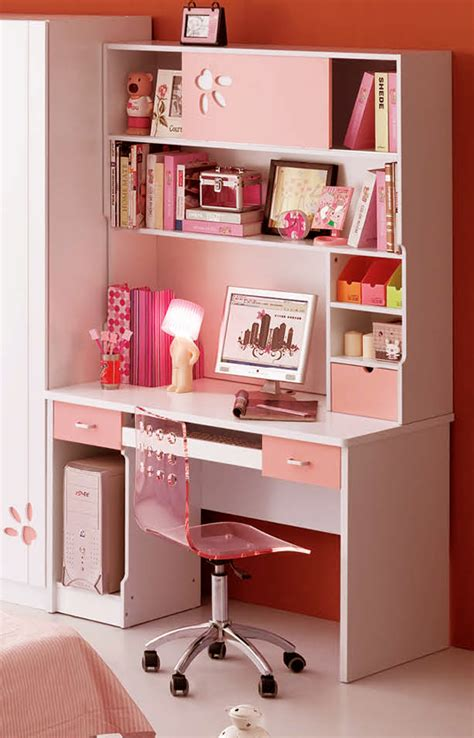 diy study desk diy home decor pink white computer study desk