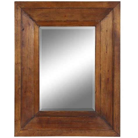 Wood Framed by Wood Framed Mirrors Sleek And Stylish In Decors