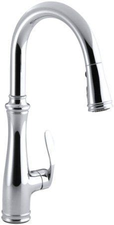 Kohler Barossa Kitchen Faucet Barossa Single Handle Pull Kitchen Faucet In Vibrant Stainless With Soap Lotion Dispenser