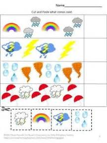 weather cut and paste math amp literacy worksheets