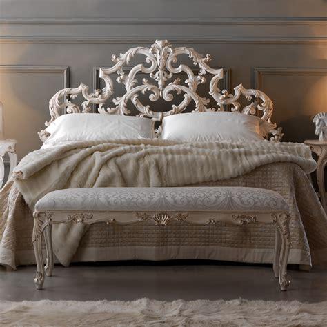 rococo bed ornate rococo reproduction italian storage bed