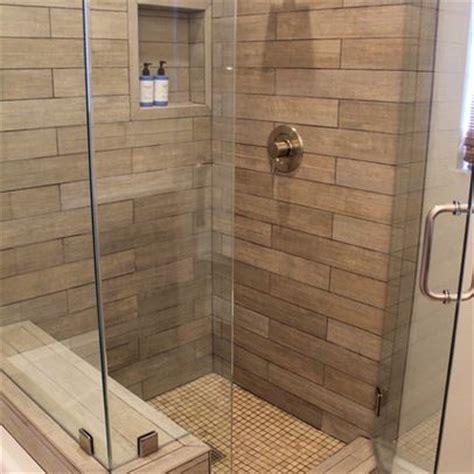 faux wood tile bathroom faux wood tile in shower visit just floors in westfield