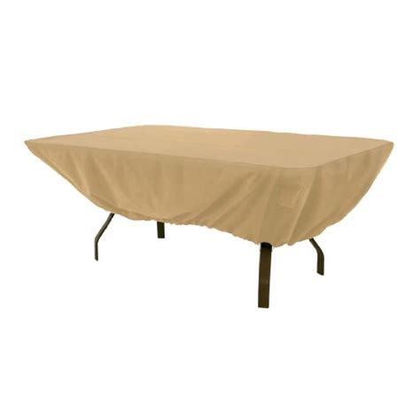 patio table accessories classic accessories terrazzo rectangular oval patio table cover all weather protection outdoor
