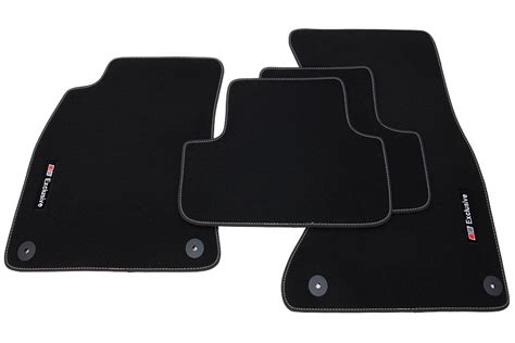 Audi A5 Floor Mats exclusive line floor mats for audi a5 sportback from 2009 lhd only floor mats for audi