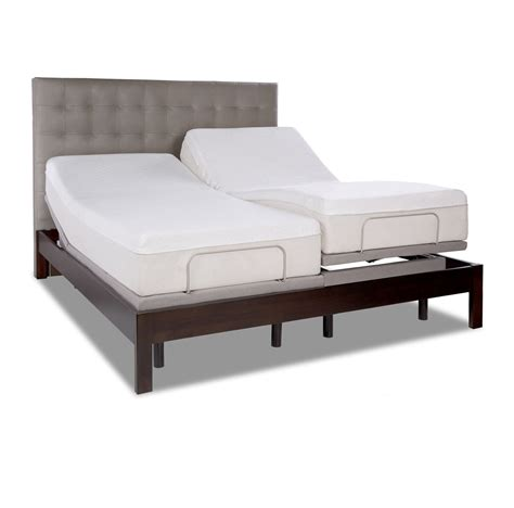 tempur pedic tempur ergo plus adjustable base foundation health wellness bed