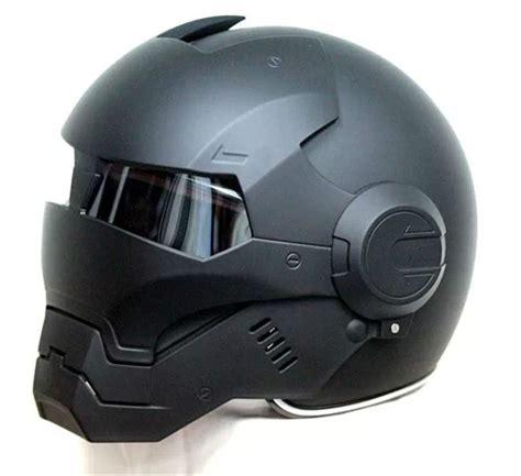 New Helmet Special Black Size M Nyaman 2016 top black masei ironman iron helmet motorcycle helmet half helmet open helmet